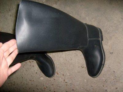 bottes caoutcouc noir