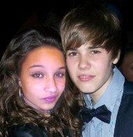 Moi Et Justin ( je suis pas fane ;) )