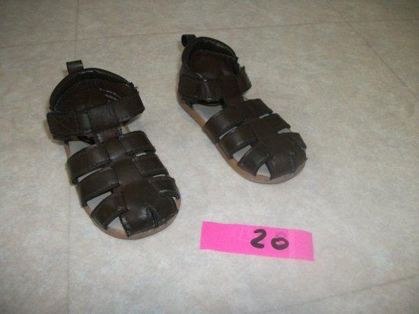 Sandale marron - H et M - taille 20 - 2 euros