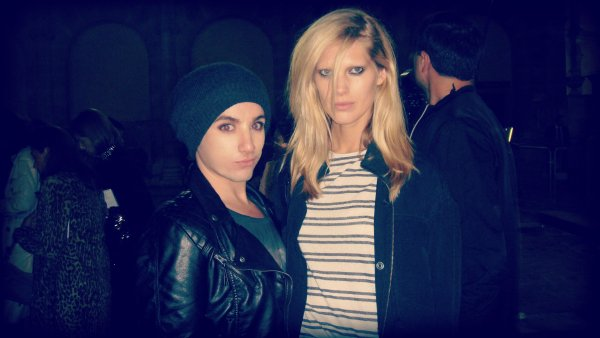 with super model Iselin Steiro <3