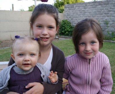 avec Lucie et Sarah