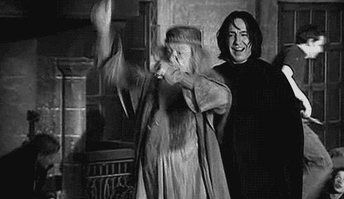 Dumbledore dance !