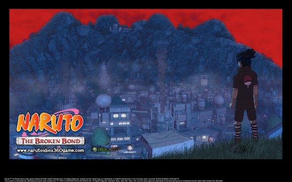 fond d'écran sasuke broken bond