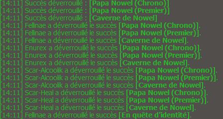 Succès Nowel et de l'xp en veux tu en voilà ! ( Partie 1/2 )