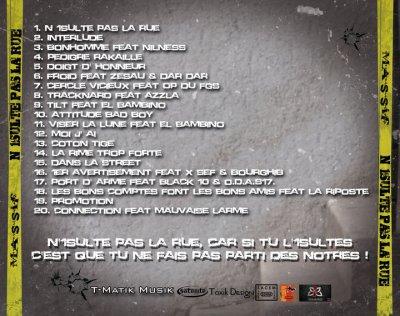 el bambino present szur la mixtape n'insulte pa la rue de massif