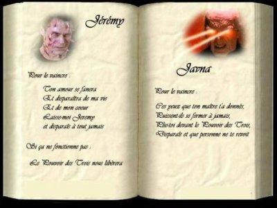 Bevorzugt La plupares des formules de Charmed - Blog de Flami-Prue UO24