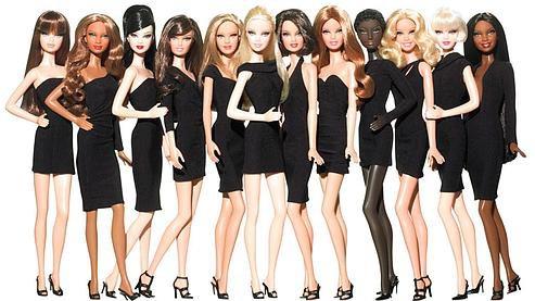 Oh Barbie si tu savais comme je ressent cette envie de te ... ressembler