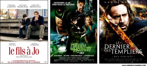 Sorties cinéma de la semaine du 12 Janvier 2011 + Box Office de la semaine du 05 Janvier 2011.