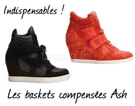 Chaussures : Des talons sur nos baskets !
