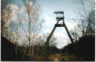 Le chevalet de la mine de Raismes-Sabatier (59)