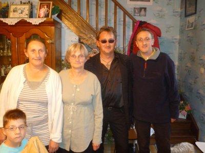 Photos souvenirs anniversaire de ma soeur Micheline