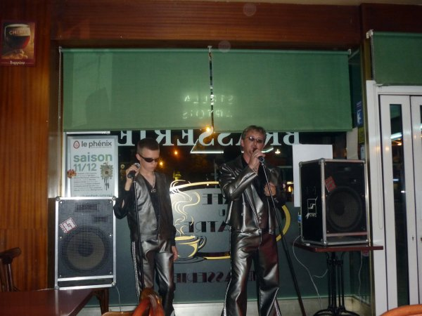 La Johnny Attitude café du théâtre à Anzin (17/09/2011)