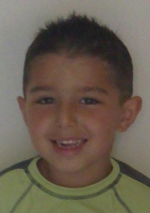 Mon frère quand il était petit