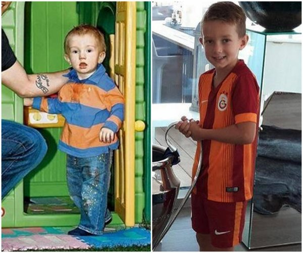 Yolanthe Sneijder & ses fils Jessey & Xess Xava