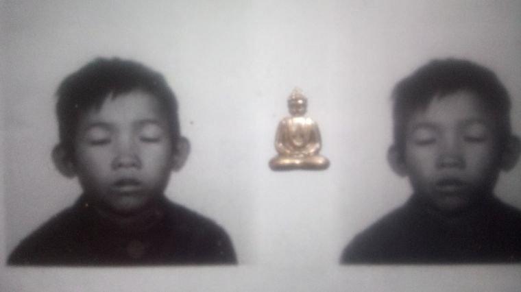 Le bouddha attend