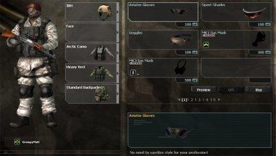 Combat Arm's.