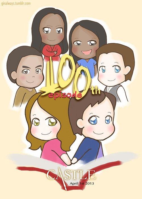 100e épisode de CASTLE