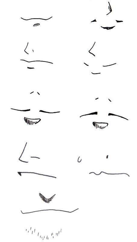 Comment Dessiner La Bouche Manga Illusion