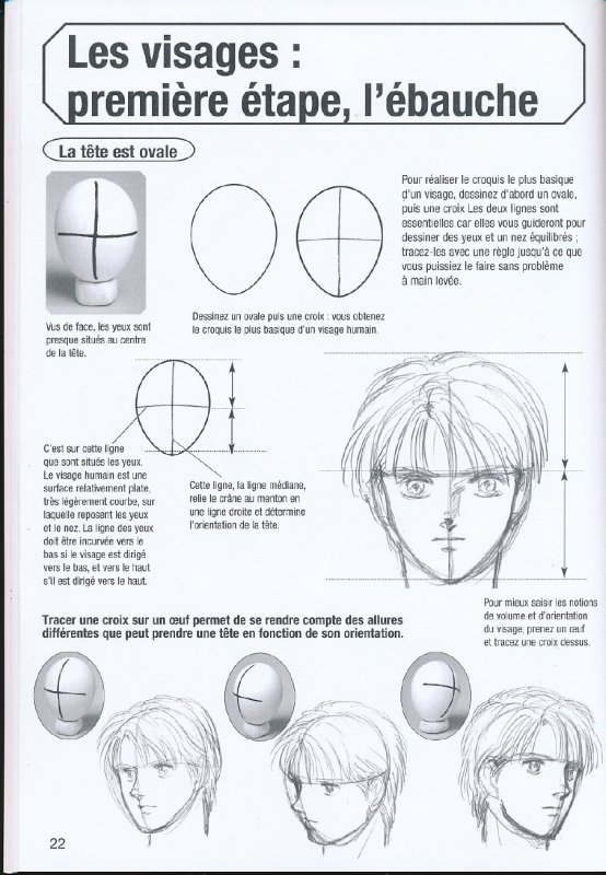 Assez ADM (Apprendre à Dessiner Manga) cours 1 : chapitre 2 - Manga Illusion JH61