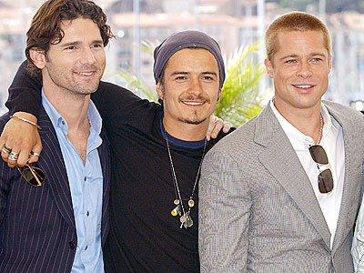 Eric Bana, Orlando Bloom & Brad Pitt ♥!