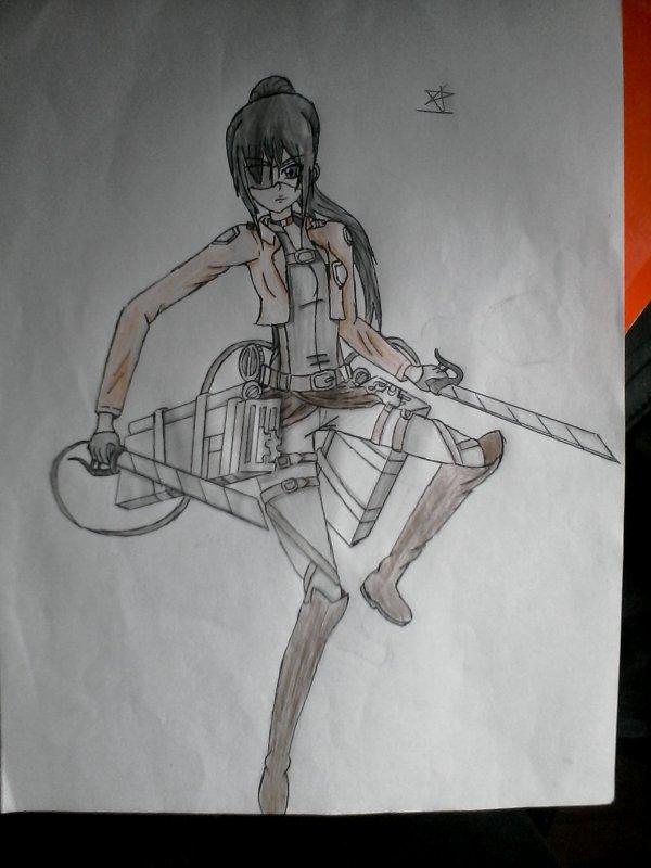 Zelda - Shingeki No Kyojin (dessin)