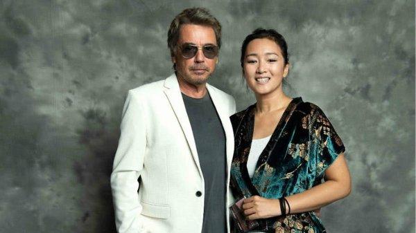 Jean Michel Jarre et Gong Li