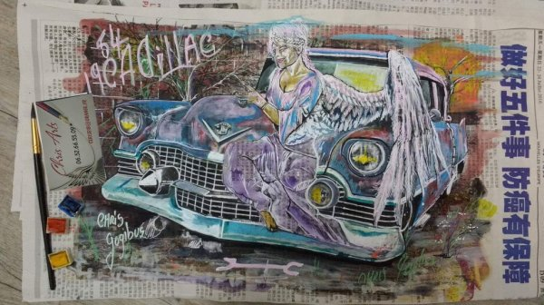 Angel de la 54