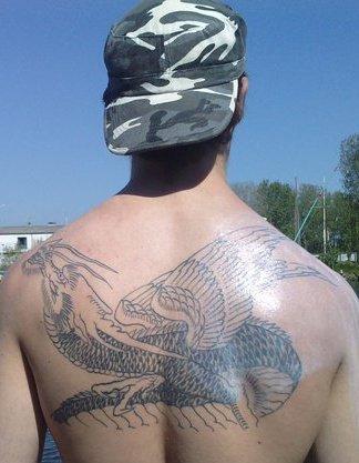 Mon petit ta tatouage,une partie de ma vie.