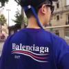 春夏超激得高品質BALENCIAGA バレンシアガ コピー 激安 ロゴ バックプリント 半袖 Tシャツ カットソー 3色可選 男女兼用