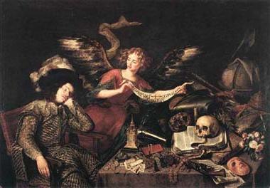 Étude du Rêve du chevalier, Antonio de Pereda