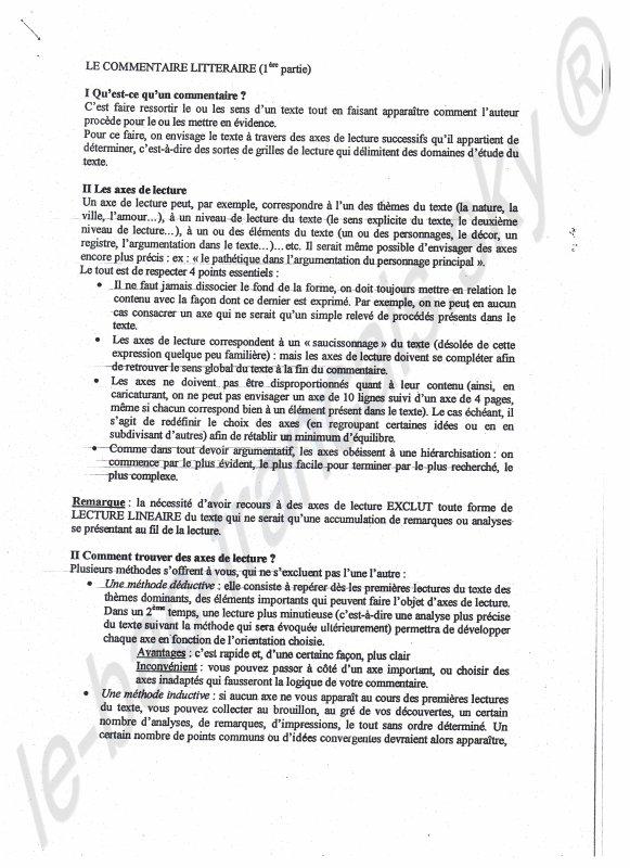 Méthodologie et vocabulaire 2.