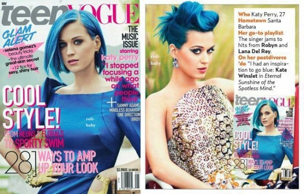 Katy Perry pour le Magazine Teen Vogue