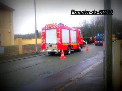 Accident Voie Public Cauffry (60) le 18/03/2013