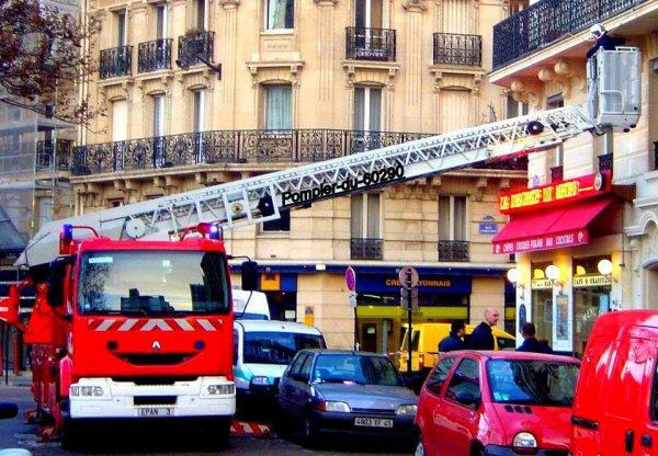 Personne ne répondant pas au appels... Paris 15ème (75)