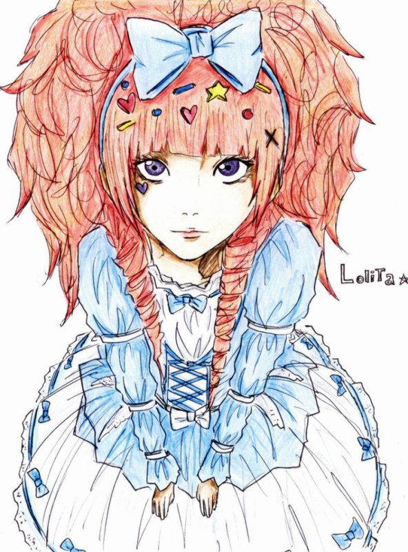 Les Mangas Lolita et Lolita gotique