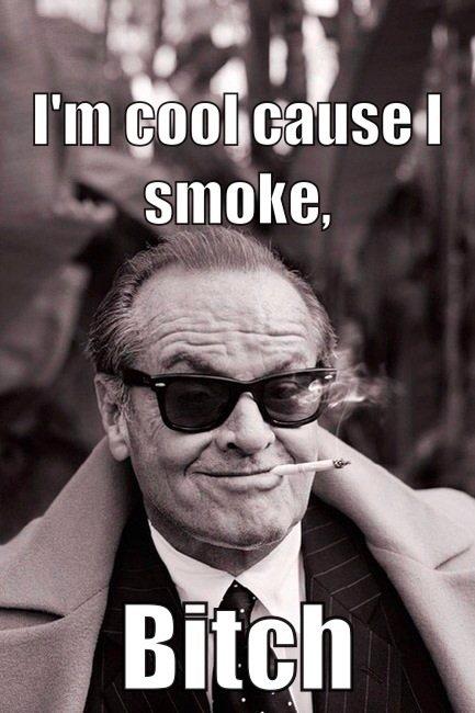 Je suis cool, respectez moi.