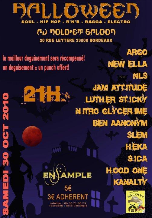 Show Case à Bordeaux le 30 Octobre 2010