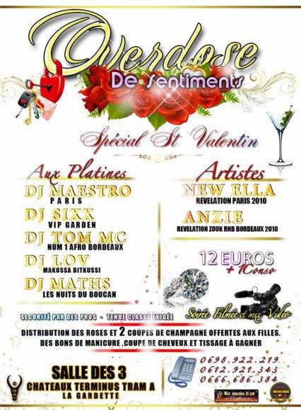 Soirée à Bordeaux le 12 Fev by Maths Prod où ta girl New Ella chantera !! events à ne pas rater !!