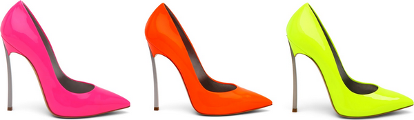 Christian Louboutin - Pigalle Neon Pump $625
