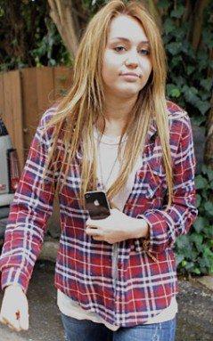 Avez-Vous déjà vue ? Miley Cyrus Tout au naturel.