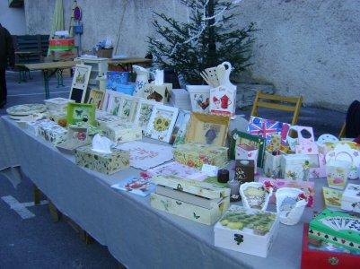 notre 3éme marché de Noël  à Sumène ...
