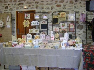 marché de Noël de Blandas ...