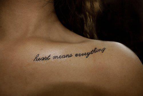 2ème partie tattoos lettrages