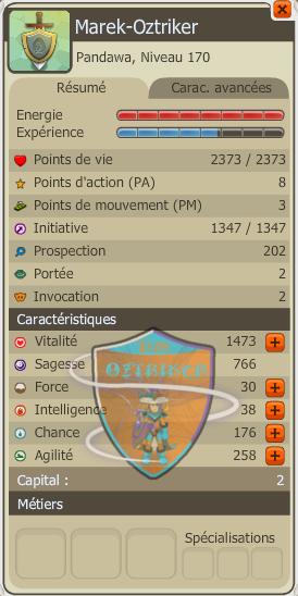 Panda niveau 170!