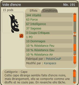 Bilan de la semaine. (5/11/2012)
