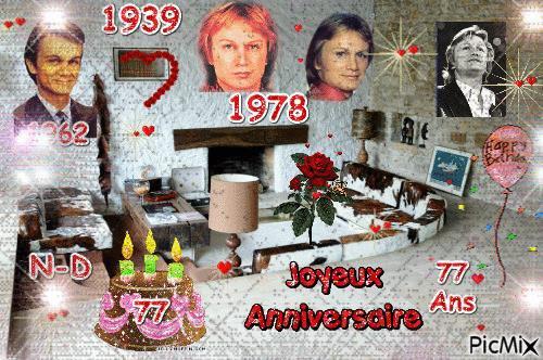 1 Février Claude tu as 77 ans bon anniversaire