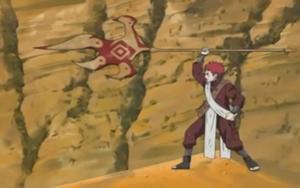 Attaque ultime - La lance de Shukaku