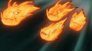 Katon - Chant de libération de la flamme du dragon