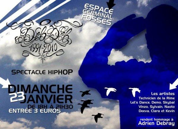 Demo participe au concert en Hommage à l'espace Germinal le Dimanche 23 janvier 2011 de 18h a 22h