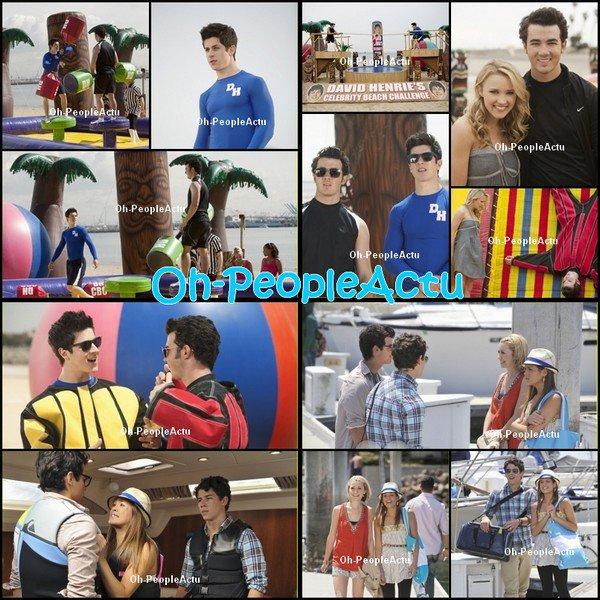 Episode Spécial de Jonas L.A.: Boat Trip. Emily Osment et David Henrie seront présent dans l'épisode.L'épisode sera diffusé le 12 septembre sur Disney Channel USA.